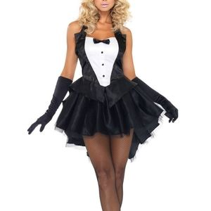 Leg Avenue Women's Tux And Tails Sexy Bunny